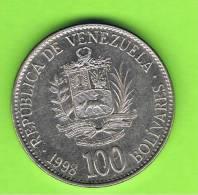 VENEZUELA -  100  Bolivar  1998  KM78 - Venezuela