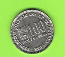 VENEZUELA -  100  Bolivar  2001  KM83 - Venezuela