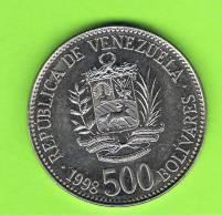 VENEZUELA -  500  Bolivar   1998  KM79 - Venezuela