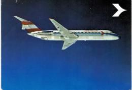 Thème -  Avion - Austrian Airlines Douglas DC9 - VOIR ETAT - Carte Souple - 1946-....: Moderne