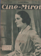 CINE MIROIR 13 02 1931- MARCELLE CHANTAL - JEAN MURAT - CHARLIE CHAPLIN - SUZY VERNON - HAROLD LLOYD - FANNY CLAIR - Cinéma/Télévision