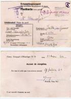 Camp De Prisonniers De Guerre - Kriegsgef- Offizierlager IV D - 20- Accusé De Réception (63203) - Marcophilie (Lettres)