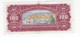BILLET 100 DINARDS - Yougoslavie