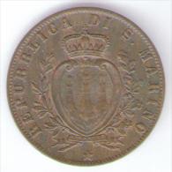 SAN MARINO 5 CENTESIMI 1894 - San Marino