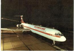 Thème -  Avion -  Interflug IL 62 - 1946-....: Moderne