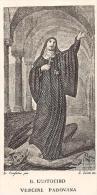 B. EUSTOCHIO V. -  Mm. 104X155 - E - RB - INCISIONE - Religione & Esoterismo