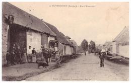 Moyencourt , 1916 , Rue D` Hombleux , Feldpost , Landwehr Inf. Rgt 77 , 6. Kompanie , 111 Inf. Division , Landsturm !!! - Sonstige Gemeinden