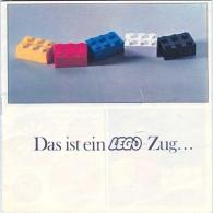 LEGO SYSTEM - CATALOGUE  LIVRE D'IDEES - Das Ist Ein LEGO-ZUG... 1967. - Catalogs
