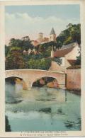 Chatillon Sur Seine  -  Le Perthuis Au Loup Et Eglise Saint Vorles - Cachet Poste 1938 - Chatillon Sur Seine