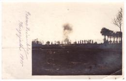 Granateinschlag 1915 , Feldpost , Landwehr Inf. Rgt 77 , 6. Kompanie , 111 Inf. Division , Landsturm !!! - Weltkrieg 1914-18
