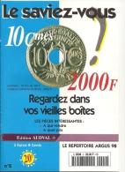LE SAVIEZ VOUS De Novembre 1997 Et Janvier 1998 (2 Catalogues) - Français
