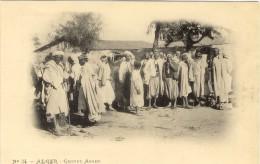 Alger Groupe Arabe  A. Vollenweider (scans Recto/verso) - Alger