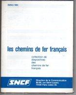 Les Chemins De Fer Français Collection De 36 Diapositives - Eisenbahnen