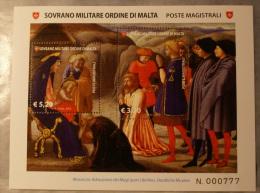 SMOM 2013 - ICONOGRAFIA DEI RE MAGI 2013 FULL SHEET MNH** - Sovrano Militare Ordine Di Malta