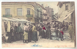 E2332  -  HEYST  -  Le Marché Et La Rue Flamande  *A. SUGG, Série 3 N° 17*colorisée* - Heist