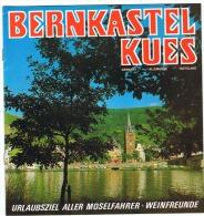 EIFEL - 4 Déplians Touristiques - BERNKASTEL KUES - 4 Touristische Broschüren -  Viele Fotos (sf87) - Affiches