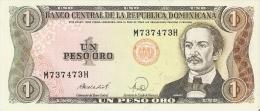 BILLETE DE LA REPUBLICA DOMINICANA DE 1 PESO ORO DEL AÑO 1988  (BANKNOTE) - República Dominicana