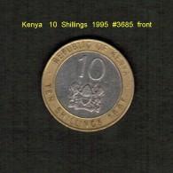 KENYA   10  SHILLINGS  1995   (KM # 27) - Kenya