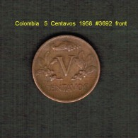 COLOMBIA    5  CENTAVOS  1958   (KM # 206) - Colombia