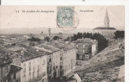 ST ANDRE DE SANGONIS 12 VUE GENERALE 1907 - France