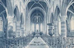 Burcht   Interieur De L'église                    Scan 5891 - Duffel
