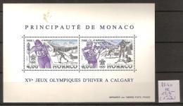 Monaco BF 40 ** Côte 18.75 € ( 1 Tâche ) - Blocs