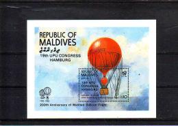 MALDIVEN.  KM  690. POSTFRIS Z PLAKKER - Malediven (1965-...)