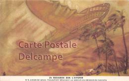 """ Regards Sur L'Avenir ""  Future  Futur - Avion De Gros Transport -Simoun Sahara -   Plane  - Vintage Card Circa 1920 - Vertellingen, Fabels & Legenden"