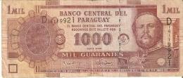 BILLETE DE PARAGUAY DE 1000 GUARANIES DEL AÑO 2005 (BANKNOTE) - Paraguay