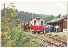TRAIN Belgique - TREIN België - PONT-D´ÉREZÉE (gare) - TTA (Tramway Touristique De L´Aisne), Érezée-Amonines-Dochamps - Stations With Trains