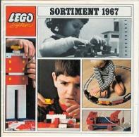 LEGO SYSTEM - CATALOGUE - SORTIMENT 1967 - Catalogs