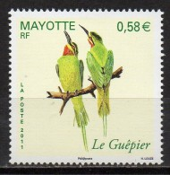 Mayotte - 2011 - Le Guêpier - Yvert N° 246 ** - Ungebraucht