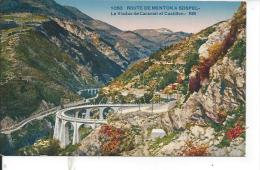 CASTILLON: Le Viaduc Ce Caramel Et Castillon - Sospel