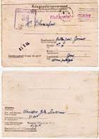Camp Des Prisonniers De Guerre Kriegsgef-Offizierlaguer IV D -38 - Correspondance  (63206) - Marcophilie (Lettres)