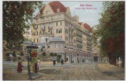 AK - Bad Elster - Strassenansicht Mit Hotel Wettiner Hof 1911 - Bad Elster