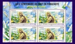 France Y&T : P.A. N°76a ***  Bloc De 4  Du Feuillet F76. - Airmail
