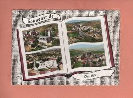 * CPM..( Dépt 83 )..CALLIAN  : Divers Vues  :  Voir Les 2 Scans - Autres Communes