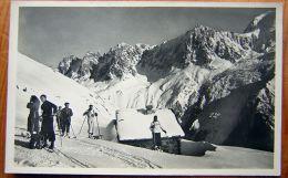 Cpsm CHAMONIX 74 Pistes Du Brévent. Aiguillette ( Skieurs ) - Chamonix-Mont-Blanc