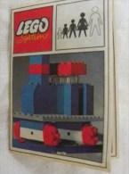 LEGO System Plan Notice TRAIN Rail - Catalogs