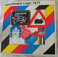 Assortiment LEGO 1971 Catalogue Dépliant Legoland - Catalogs