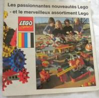 Catalogue  Les Passionnantes Nouveautés LEGO Et Le Merveilleux Assortimant LEGO - Catalogues