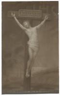 Crocefissione Di Gesù. Con Citazione Di N.Bonaparte Sul Retro. - Gesù