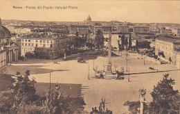 Italy Roma Rome Piazza del Popolo vista dal Pincio