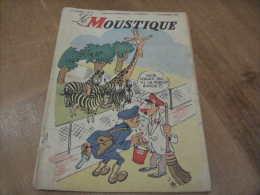 Le Moustique Couverture Jijé Année 1946 N°40 - Moustique, Le
