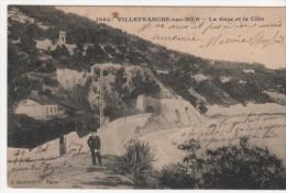 Villefranche Sur Mer  La Gare Et  La Cote - Villefranche-sur-Mer