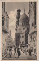 AK - Cairo - Strassenansicht Mit  Ibrahim-Agha-Moschee - Kairo
