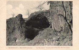 07 - ARDECHE - MONTPEZAT SOUS BAUZON - LA BAUMASSE - GROTTES NATURELLES DITES DES AMOUREUX - Non Classés