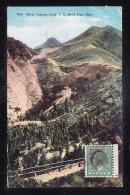 USA1-06 SILVER CASCADE FALLS C.C. SHORT LINE COLO - Etats-Unis