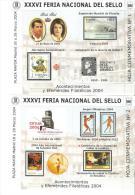 6 Hb Hojita Commemorativa 1 A La 6 Feria Nacional Del Sello. - Otros