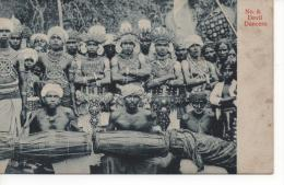 SRI LANKA  ( Ceylon ) -   Devil  Dancers - Sri Lanka (Ceylon)